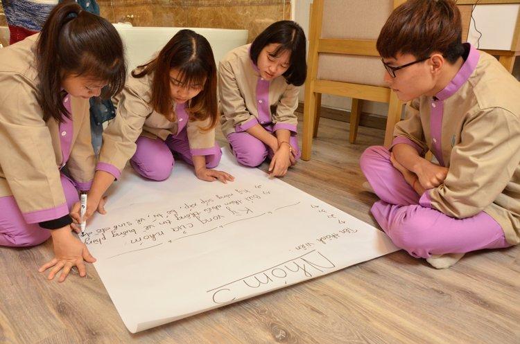 Lựa chọn học Nghề Du lịch - Xu hướng mới của giới trẻ Thuc hanh buong phong 3 HHTC