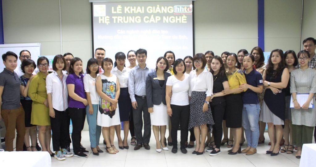 Lễ Khai giảng Hệ trung cấp nghề tháng 5/2018 IMG 2811
