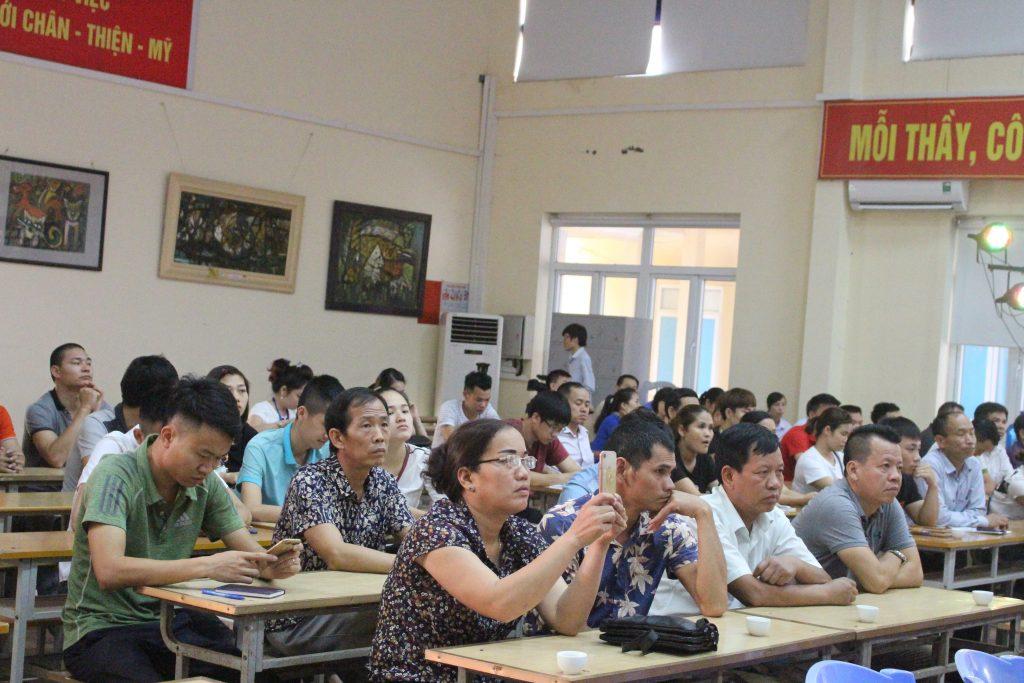 Khai giảng Lớp bồi dưỡng Nghiệp vụ quản lý Cơ sở lưu trú du lịch năm 2018 tại Bắc Ninh IMG 2957