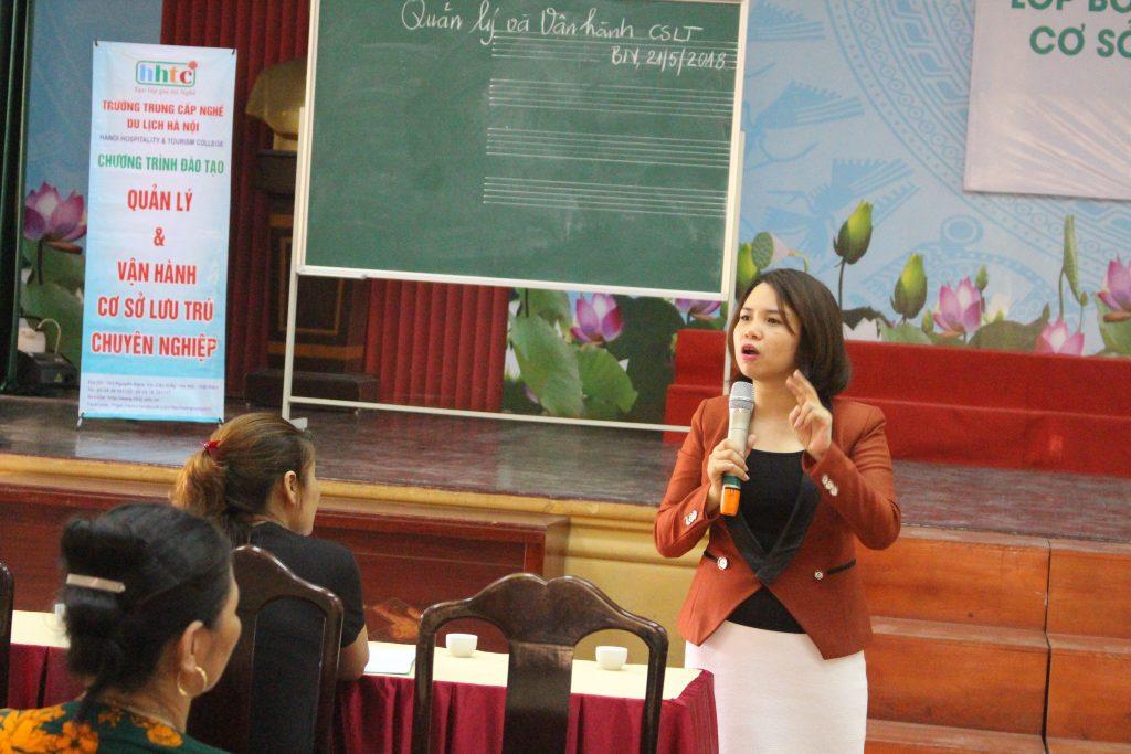 Khai giảng Lớp bồi dưỡng Nghiệp vụ quản lý Cơ sở lưu trú du lịch năm 2018 tại Bắc Ninh IMG 2999