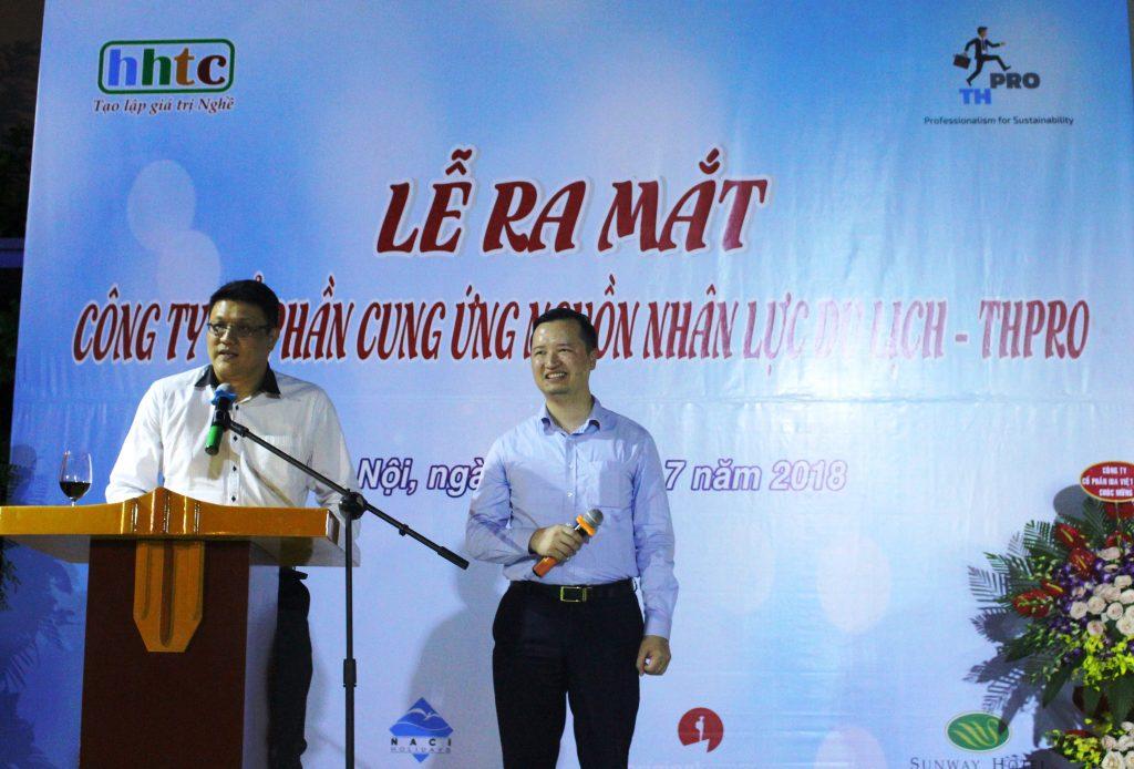 Lễ ra mắt Công ty Cung ứng nguồn nhân lực Du lịch chất lượng cao (THPRO) ng Liêu đại diện Page A guide