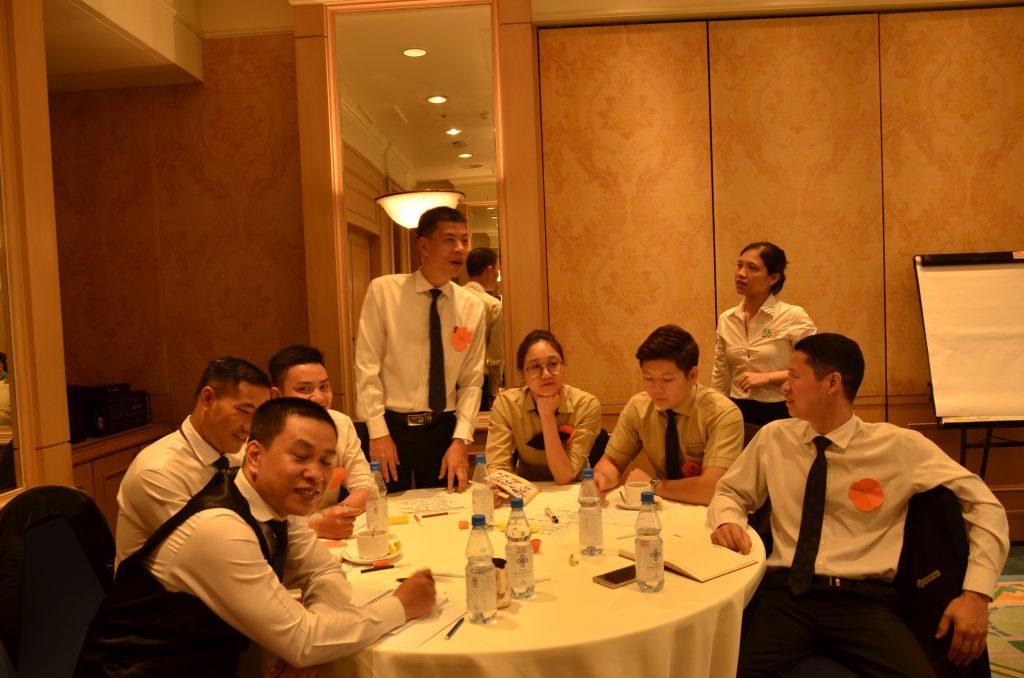 Đào tạo theo yêu cầu doanh nghiệp: Đào tạo nghiệp vụ cho nhân viên Khách sạn Daewoo Hà Nội DSC0962