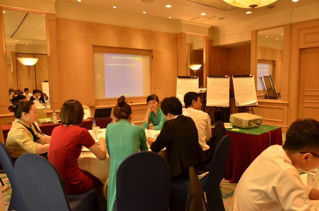 Đào tạo theo yêu cầu doanh nghiệp: Đào tạo nghiệp vụ cho nhân viên Khách sạn Daewoo Hà Nội DSC0966