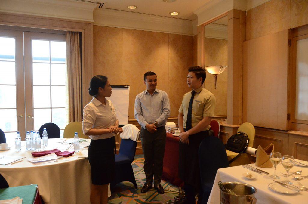 Đào tạo theo yêu cầu doanh nghiệp: Đào tạo nghiệp vụ cho nhân viên Khách sạn Daewoo Hà Nội DSC1123