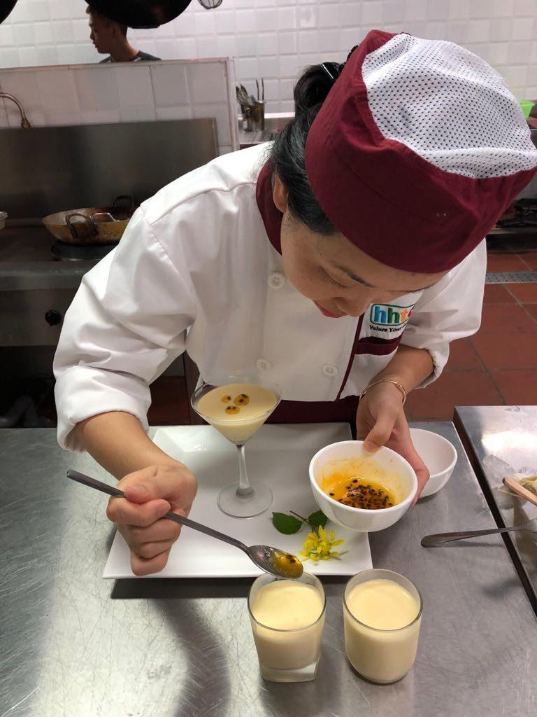 Những bài thi hết môn đầy thú vị của các học viên Kỹ thuật chế biến món ăn 41392623 532984877144223 6675663768342495232 n