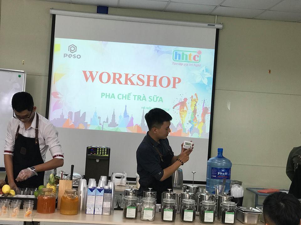Thưởng thức vị trà sữa chuẩn vị Đài Loan cùng học viên HHTC 43698063 189890188554999 8045265329355489280 n