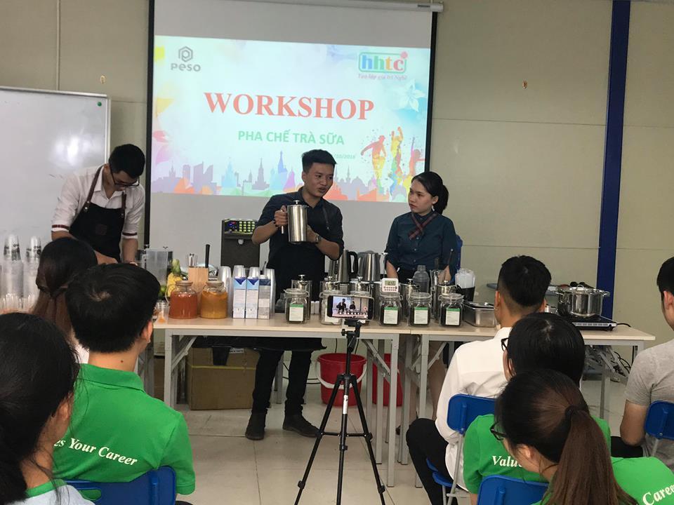Thưởng thức vị trà sữa chuẩn vị Đài Loan cùng học viên HHTC 43709441 277507806226537 3024761341324820480 n