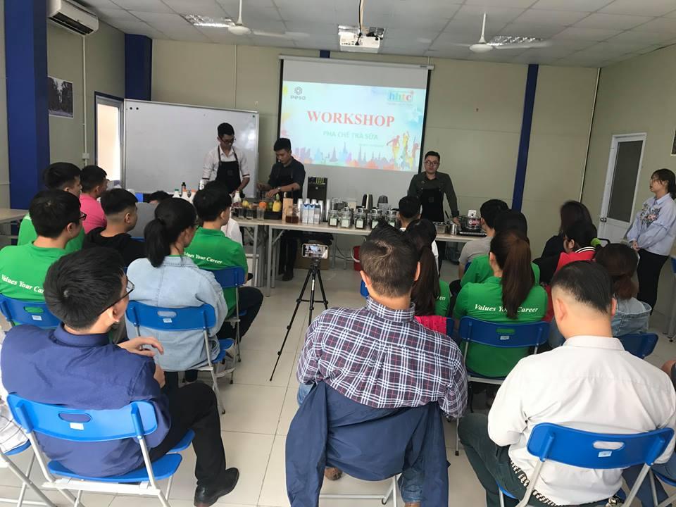 Thưởng thức vị trà sữa chuẩn vị Đài Loan cùng học viên HHTC 43709496 464701667375205 1941834819956637696 n