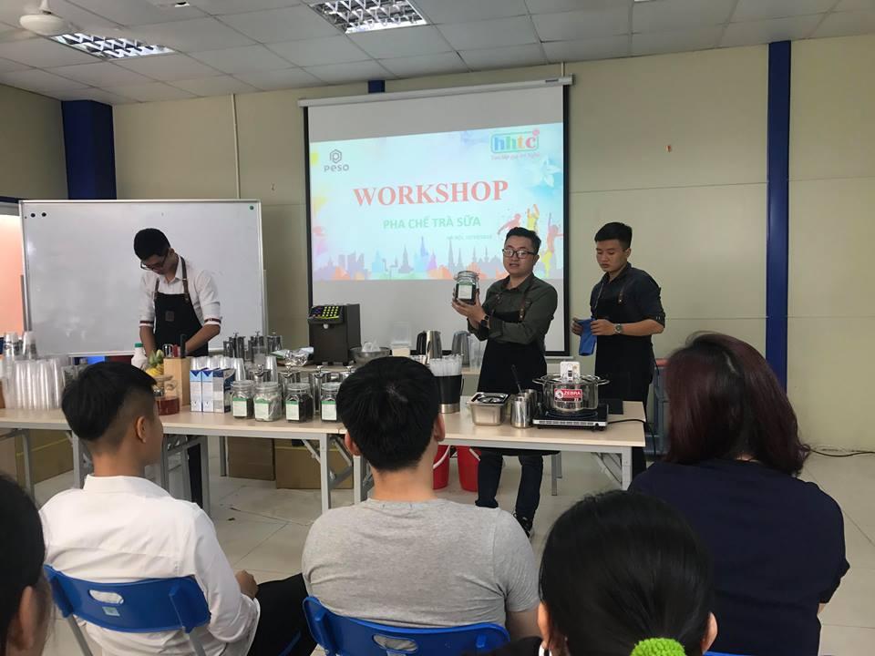 Thưởng thức vị trà sữa chuẩn vị Đài Loan cùng học viên HHTC 43717913 456145988210917 1019605290242277376 n