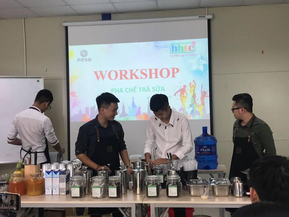 Thưởng thức vị trà sữa chuẩn vị Đài Loan cùng học viên HHTC 43734647 2177496002538296 1782754333733945344 n