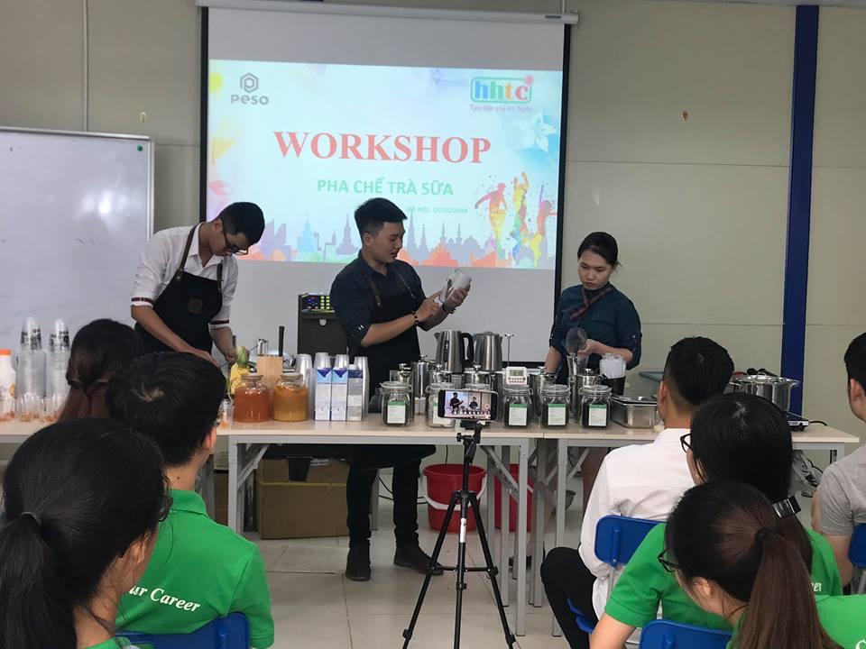 Thưởng thức vị trà sữa chuẩn vị Đài Loan cùng học viên HHTC 43788793 623558571374447 1920321805512343552 n