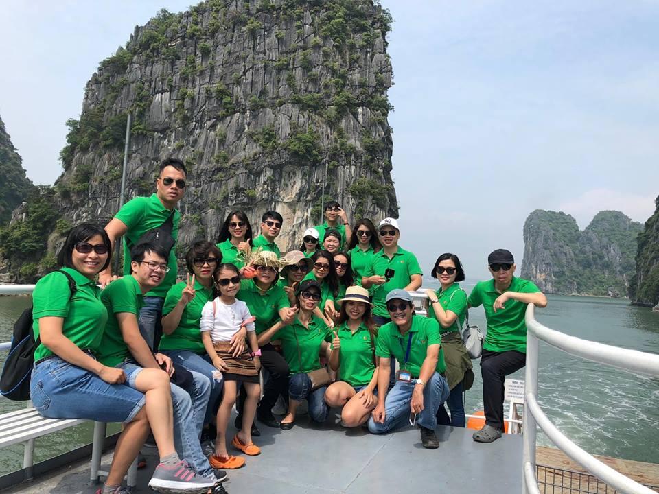 Trường HHTC tổ chức team building cho Cán bộ nhân viên tại Vịnh Lan Hạ - Hải Phòng 44028941 294485321157550 182802638570520576 n