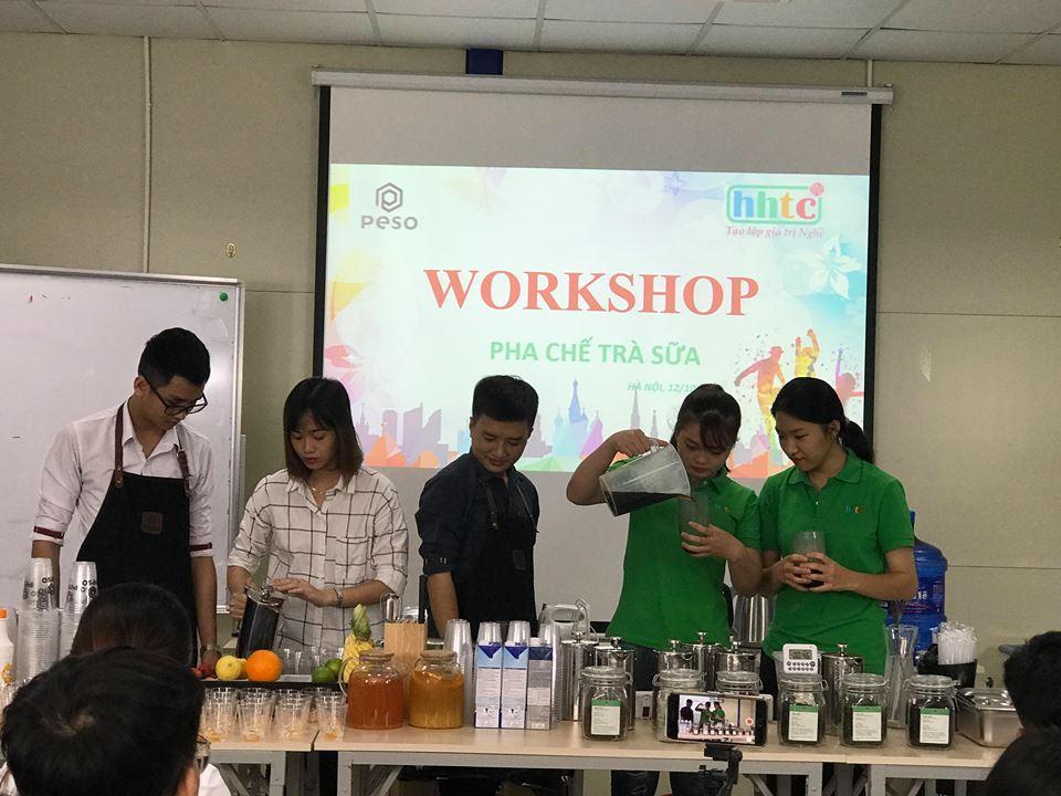 Thưởng thức vị trà sữa chuẩn vị Đài Loan cùng học viên HHTC 44043490 1140314716106714 103093637604179968 n