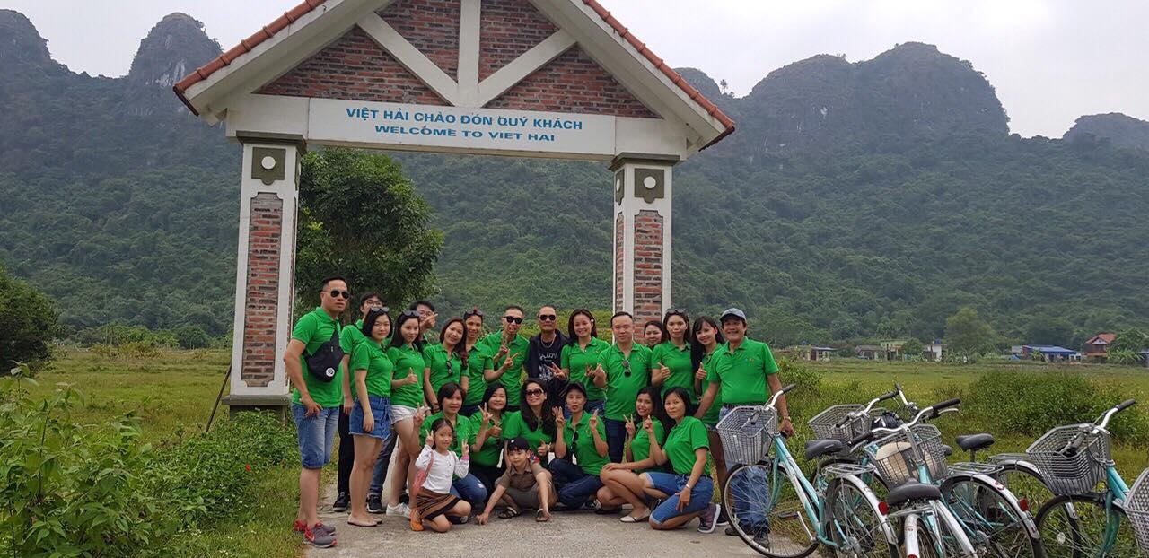 Trường HHTC tổ chức team building cho Cán bộ nhân viên tại Vịnh Lan Hạ - Hải Phòng 44106563 1573909346042594 5194968106509795328 n