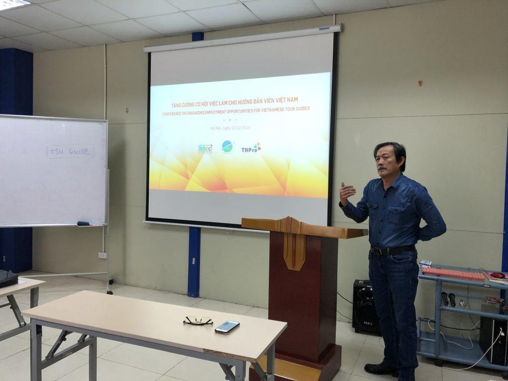 """Công ty THPro tổ chức hội thảo """"Tăng cường cơ hội việc làm cho Hướng dẫn viên Việt Nam"""" 20181222 021920781 iOS"""