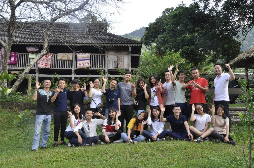Học viên HHTC: Tự hào hát Quốc ca nơi cực Bắc Việt Nam DSC0756