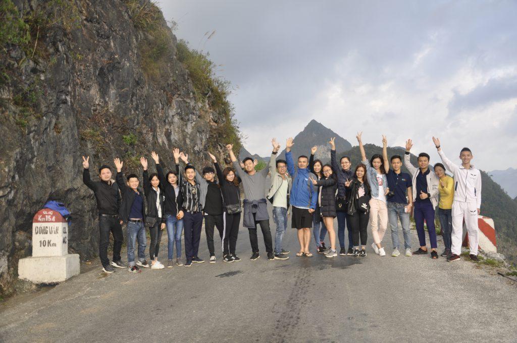 Học viên HHTC: Tự hào hát Quốc ca nơi cực Bắc Việt Nam DSC1197