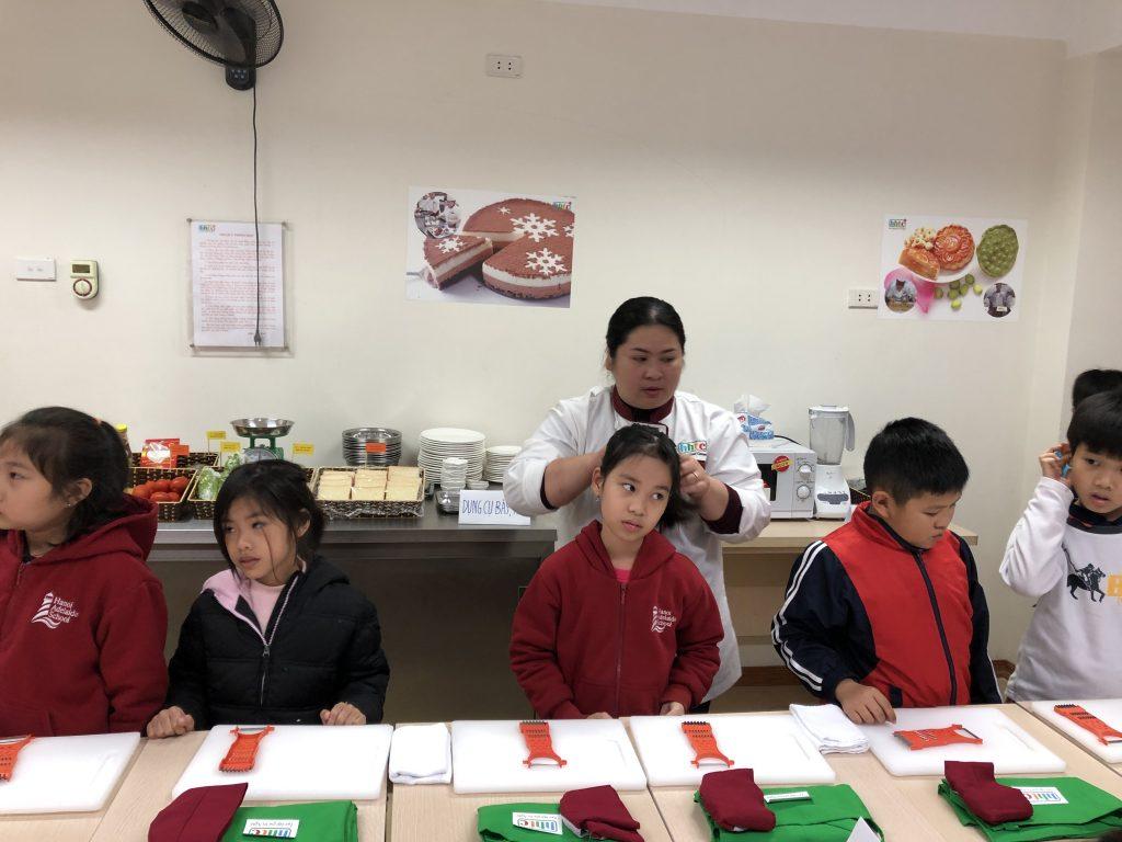 """Một ngày làm """"Đầu Bếp nhí"""" cùng các học sinh trường Tiểu học H.A.S 20190107 015020884 iOS"""