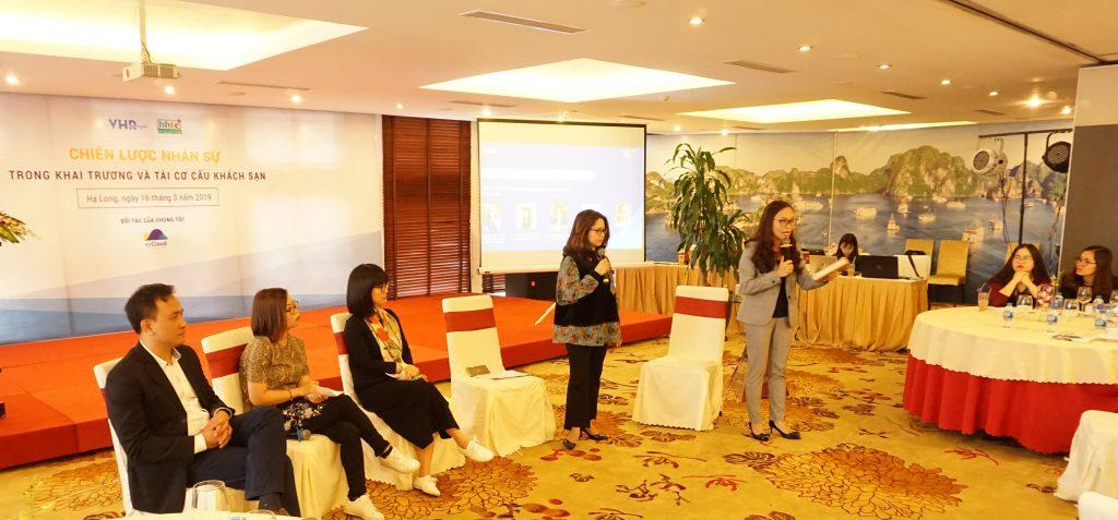 """HHTC tổ chức Hội thảo """"Chiến lược nhân sự trong khai trương và tái cơ cấu Khách sạn"""" cùng VHRO hội thảo"""