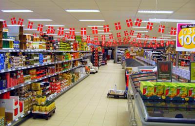 Bán hàng siêu thị sieu thị