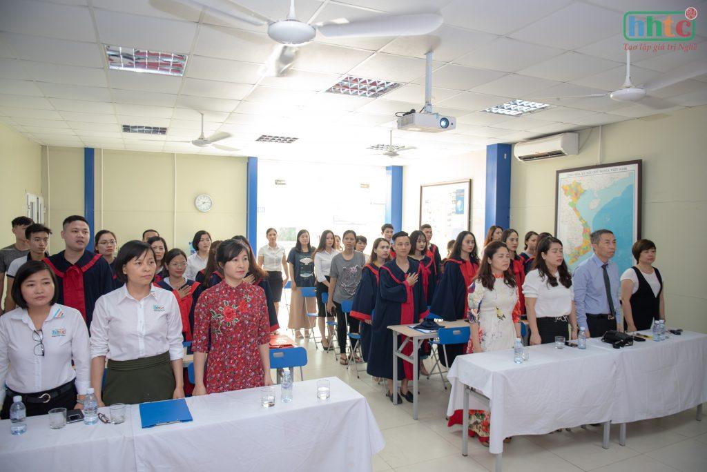 Lễ tốt nghiệp ấm cúng của học viên HHTC niên khóa 2018 - 2019 DSC 0211