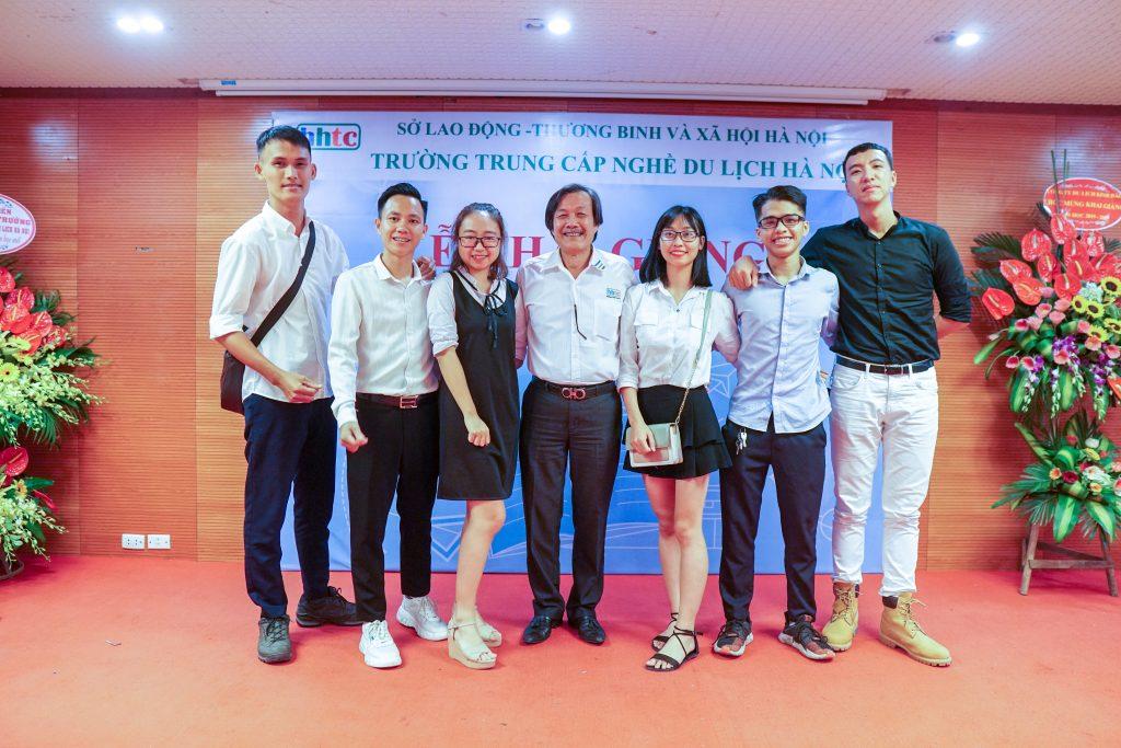 Lễ Khai giảng chào đón tân học viên năm học 2019 - 2020 DSC06071