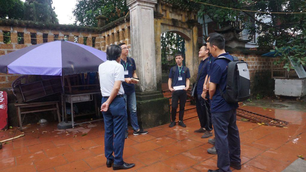 Khám phá Làng cổ Đường Lâm cùng học viên Trường Trung cấp Du lịch Hà Nôi DSC08001