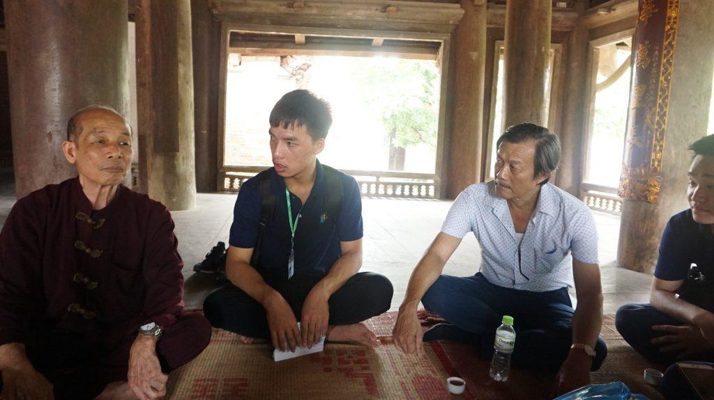 Khám phá Làng cổ Đường Lâm cùng học viên Trường Trung cấp Du lịch Hà Nôi DSC08050