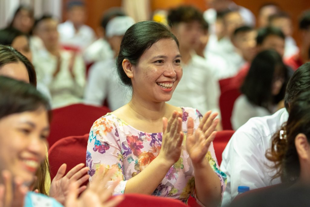 Lễ Khai giảng chào đón tân học viên năm học 2019 - 2020 IMG 2461