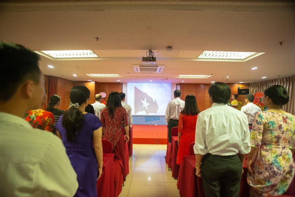 Lễ Khai giảng chào đón tân học viên năm học 2019 - 2020 IMG 2537
