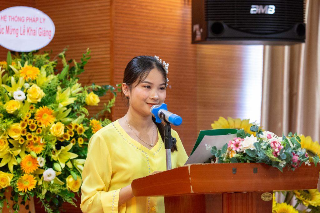 Lễ Khai giảng chào đón tân học viên năm học 2019 - 2020 IMG 2635