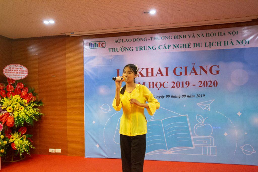 Lễ Khai giảng chào đón tân học viên năm học 2019 - 2020 IMG 2663