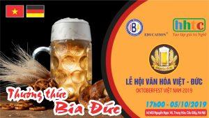 Háo hức với Lễ hội Giao lưu văn hóa Đức - Việt Lễ hội Bia
