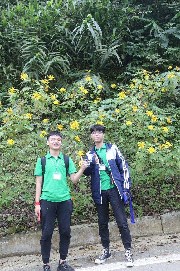 Ngắm hoa Dã Quỳ nở rộ cùng học sinh Trường Trung cấp Du lịch Hà Nội IMG 1459