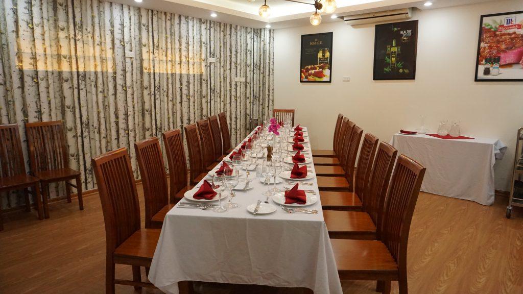"""Những khu thực hành """"xịn sò"""" ở HHTC Ảnh khu thực hành nhà hàng"""