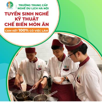 Cơ hội việc làm lương cao cho bạn trẻ theo nghề đầu bếp Tuyển sinh đầu bếp