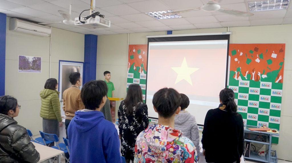 Lễ Ra Mắt Đoàn Trường Trung cấp nghề Du lịch Hà Nội 3