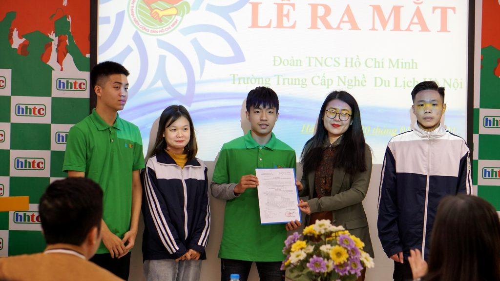 Lễ Ra Mắt Đoàn Trường Trung cấp nghề Du lịch Hà Nội 6