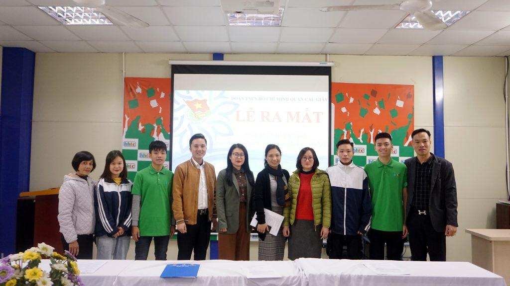 Lễ Ra Mắt Đoàn Trường Trung cấp nghề Du lịch Hà Nội 9