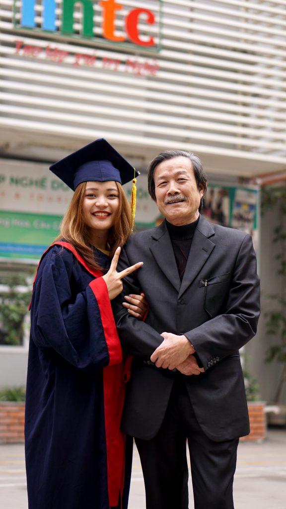 Lễ tốt nghiệp tràn đầy cảm xúc của Trường Trung cấp Du lịch Hà Nội DSC04139