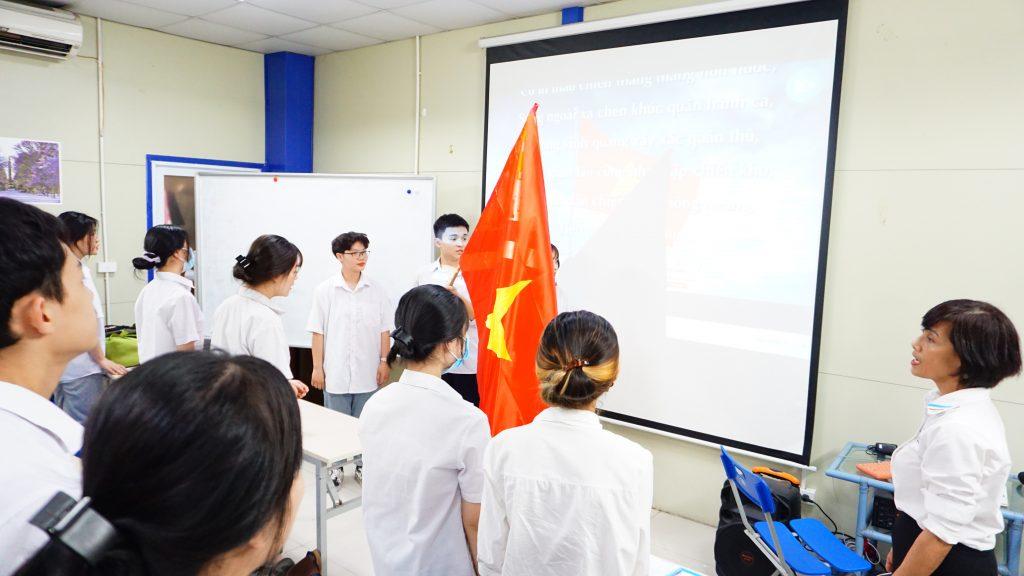 Đoàn Trường HHTC tổ chức mở lớp cảm tình Đoàn năm 2021 DSC08109