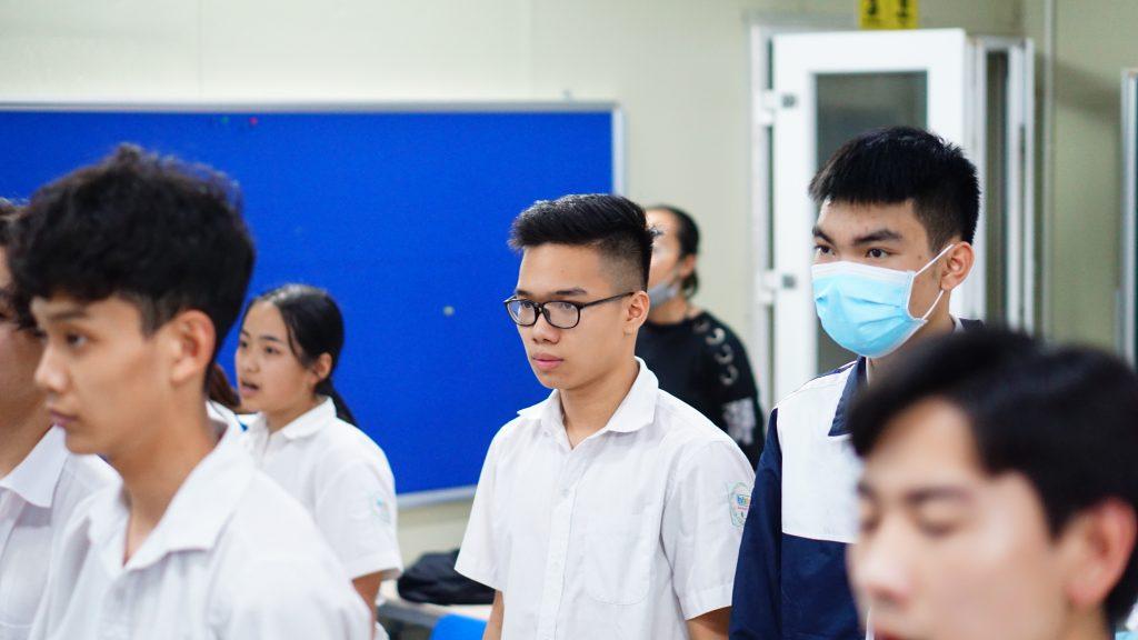 Đoàn Trường HHTC tổ chức mở lớp cảm tình Đoàn năm 2021 DSC08118