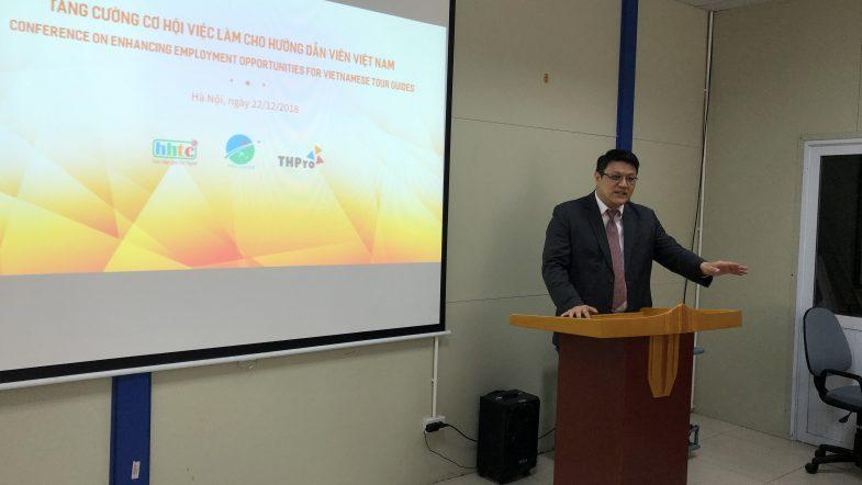 """Công ty THPro tổ chức hội thảo """"Tăng cường cơ hội việc làm cho Hướng dẫn viên Việt Nam"""" 20181222 022227028 iOS"""