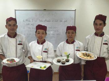 Những bài thi hết môn đầy thú vị của các học viên Kỹ thuật chế biến món ăn