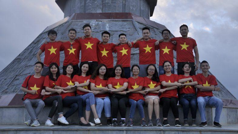Học viên HHTC: Tự hào hát Quốc ca nơi cực Bắc Việt Nam DSC1111
