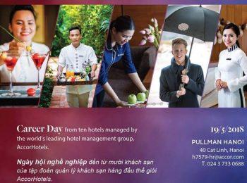 """Ngày hội Tuyển dụng """"Career day"""" của tập đoàn Accor tại Pullman Hà Nội"""