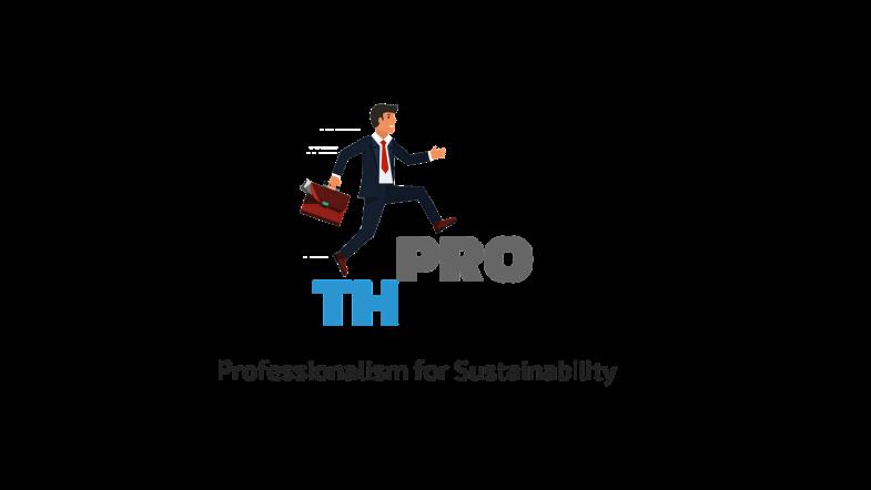 Thành lập Công ty cung ứng nguồn nhân lực du lịch (THPRO) logo th pro no background