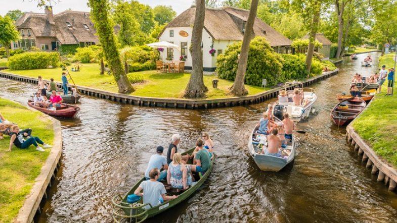 Độc đáo ngôi làng không có đường đi ở Hà Lan ngoi lang giethoorn ha lan 19