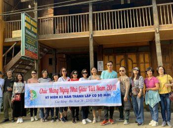 """Hành trình """"Du ngoạn miền non nước"""" tại Cao Bằng, Bắc Kạn của trường Trung cấp Du lịch Hà Nội"""